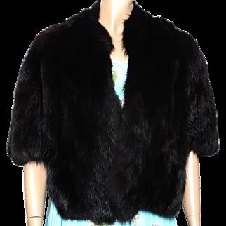 Vintage Fox Fur Stole | Black Fox Fur Stole | Glamorous Fox Fur Stole | Decadent Fox Fur Stole | Fox Fur Stole | Black Fox Stole |