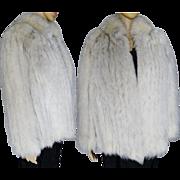 Fox Fur Coat | Norway Blue Fox | Fox Fur Jacket | High Fashion | Mod | BLUE FOX | Couture | New Look | Gorgeous Fur Jacket
