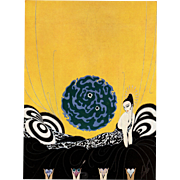 Original 1926 Art Deco Lithograph by Erté