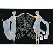 Art Deco Print-Marriage Dance by Erté