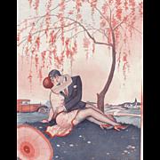 Valentine Perfect-Original Art Deco print