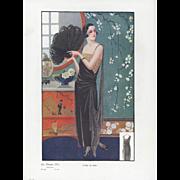 Art Deco Fashion design Print
