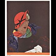 Art Deco Women's Fashion Print