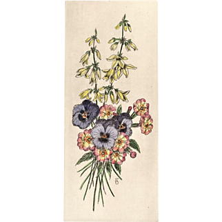Vintage French Botanical Bouquet