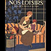 Mother & Children Reading