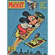 Vintage Disney Mickey Mouse Print