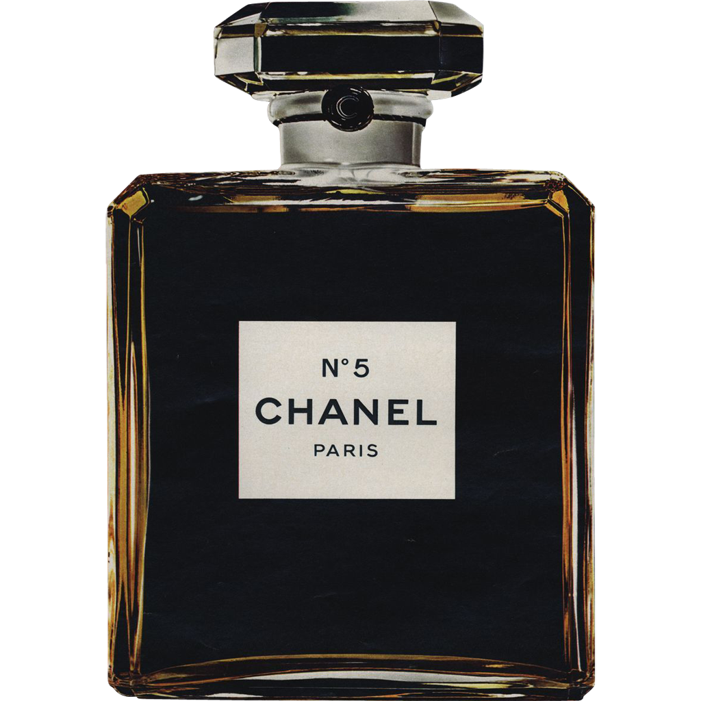 Original french vintage chanel no5 perfume print from - Vintage chanel ...