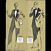 Pair-Vintage Men's Tuxedo Fashion Designs