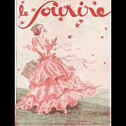 Art Deco Valentine Print