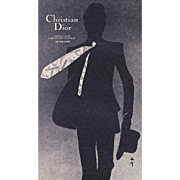Christian Dior advertisement print for Man's tie