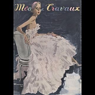 Mid-Century Christian Dior Fashion print