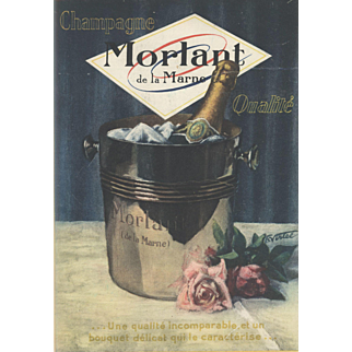Vintage French Champagne print