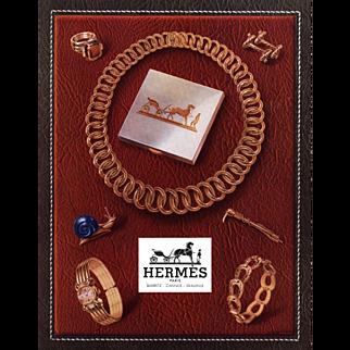 Mid Century French Hermès Jewelry Print