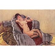 Erotic Art Deco Nude