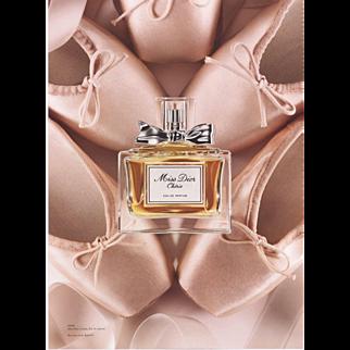 Original Dior perfume print