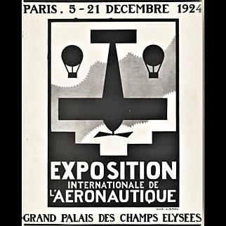 Art Deco Aeronautic Air Show Print