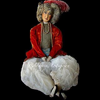 Very Rare male Rosalinde Art Doll/Boudoir Doll