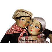 Blossom Boudoir Doll  Apache Smoker Couple