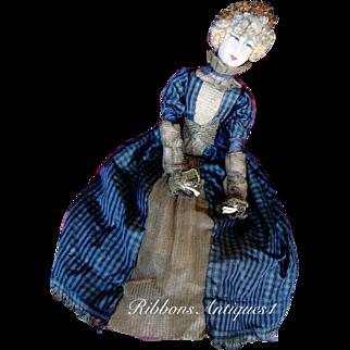 Rare French Artist's Boudoir Doll