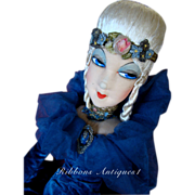 All Original Artist Boudoir Doll ring lady with parisian tag.