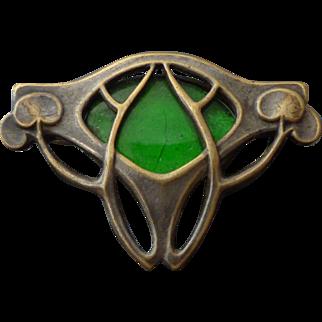 Antique c.1900 JUGENDSTIL Art Nouveau Brooch