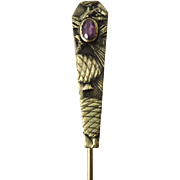 c.1900 Art Nouveau Pinecone Stick Pin