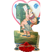 Childrens valentines, antique post cards,