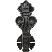 Antique English Cast Iron Doorknocker Christopher Dresser for Arthur Kendrick Design