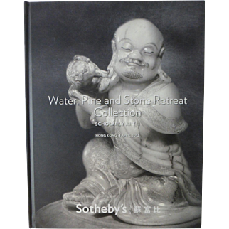 Major Chinese Scholar Art Collection Auction Catalog Sotheby's Water, Pine and Stone Retreat