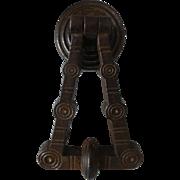 Arthur Kenrick Victorian Cast Iron Door Knocker Christopher Dresser Aesthetic Movement