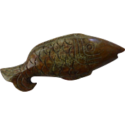 Chinese Carved Hardstone Fish 鱼