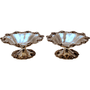 Pair of Dominick & Haff Sterling Silver Compotes