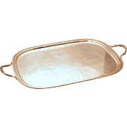 Sterling Silver George V Style Tray