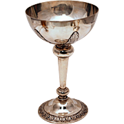 English Sterling Silver Goblet Centerpiece