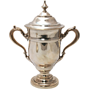 American Sterling Silver Two-Handled Trophy