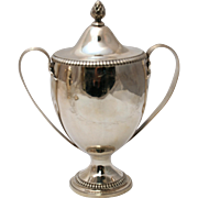 English Silver Two-Handled Trophy, 18th Century