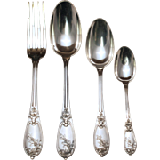 French 950 Henin & Vivier Flatware Set