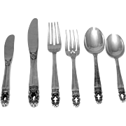 Hispana/Sovereign by Gorham Sterling Flatware Set, 1968