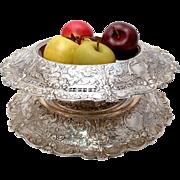Gorham Sterling Silver Florentine Centerpiece Bowl