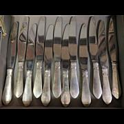 Georg Jensen Continental Sterling Silver Dinner Knives
