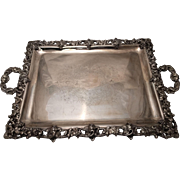 Fabulous French Silver Tray