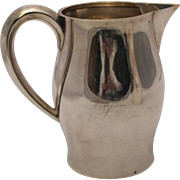 Tuttle Sterling Silver Paul Revere Style Water Pitcher