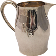 Sterling Silver Paul Revere Water Pitcher