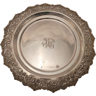 Large Sterling Serving Plate by S Kirk & Son