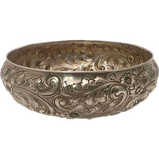 Silver Serving Bowl by Dergen