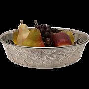 Silver Plate Centerpiece Bowl