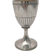 Beautiful Silver Georgian American Styled Goblet