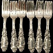 Silver Gorham Lancaster Dessert/Pastry Fork 1893