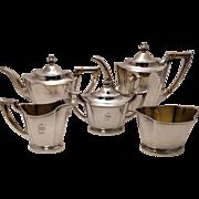 International Silver Tea & Coffee Service Pattern C306 Five Piece