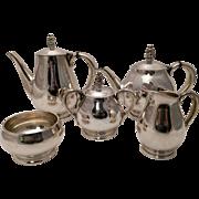 International Royal Danish Silver Tea and Coffee Service